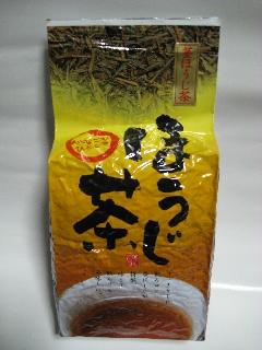 静岡県牧之原市村松園の茎ほうじ茶