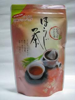 静岡県牧之原市村松園のティーバックほうじ茶5g